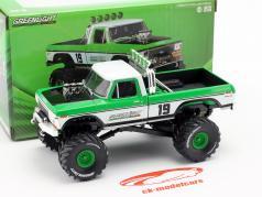 Ford F-250 Monster Truck Baujahr 1974 grün / weiß 1:43 Greenlight