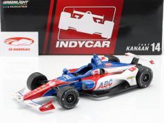 Tony Kanaan Chevrolet #14 IndyCar Series 2019 A. J. Foyt Enterprises 1:18 Greenlight