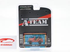 Jeep CJ-7 TV series The A-Team (1983-87) red 1:64 Greenlight