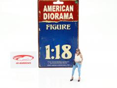 Ladies Night Sara figure 1:18 American Diorama