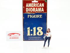 Ladies Night Elle figure 1:18 American Diorama
