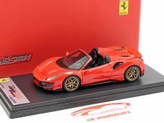 Ferrari 488 Pista Spyder ano de construção 2018 vermelho 1:43 LookSmart