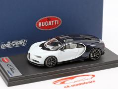 Bugatti Chiron Skyview white / dark blue metallic 1:43 LookSmart