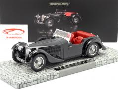 Bugatti Type 57SC Corsica Roadster année 1938 noir 1:18 Minichamps