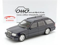 Mercedes-Benz S124 AMG E36 Ph3 Baujahr 1995 dunkelblau 1:18 OttOmobile