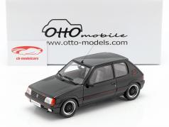 Peugeot 205 GTI Gutmann año de construcción 1988 negro 1:18 OttOmobile