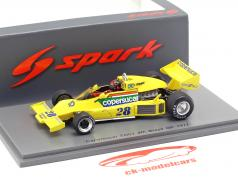 Emerson Fittipaldi Copersucar FD04 #28 4th Brasilien GP Formel 1 1977 1:43 Spark