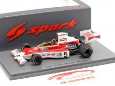 Emerson Fittipaldi McLaren M23 #5 Weltmeister Monaco GP Formel 1 1974 1:43 Spark