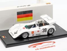 BRM P167 #38 vencedor Interserie Hockenheim 1971 Brian Redman 1:43 Spark