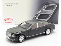 Bentley Mulsanne Speed année de construction 2017 émeraude vert 1:18 Almost Real