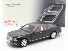 Bentley Mulsanne Speed year 2017 emerald green 1:18 Almost Real