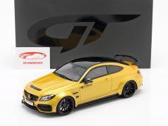 Mercedes-Benz C-Class C63 AMG W205 Prior Design year 2018 solar beam yellow 1:18 GT-SPIRIT