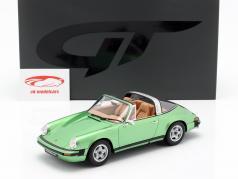 Porsche 911 S 2.7 Targa ano de construção 1974 verde metálico 1:18 GT-SPIRIT