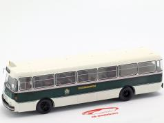 Berliet PLR 8 MU bus France year 1956 dark green / white 1:43 Altaya
