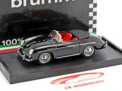 Porsche 356 Speedster year 1952 black 1:43 Brumm