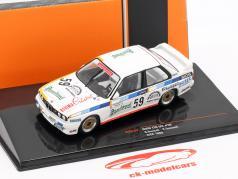 BMW M3 (E30) #59 ETCC 1988 Vanicek, Tomasek 1:43 Ixo