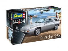 Porsche 928 uitrusting zilver 1:16 Revell