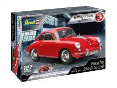 Porsche 356 B Coupe estojo vermelho 1:16 Revell