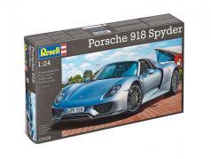 Porsche 918 Spyder estojo prata 1:24 Revell