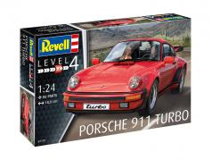 Porsche 911 Turbo equipo rojo 1:24 Revell