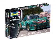 Porsche 934 RSR Vaillant #9 trousse 1:24 Revell