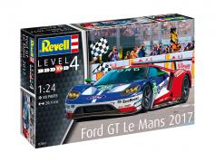 Ford GT #66 24h LeMans 2017 Ford Chip Ganassi Team UK kit 1:24 Revell