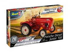 Porsche Diesel Junior 108 Bausatz rot 1:24 Revell
