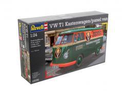 Volkswagen VW T1 Kastenwagen Jägermeister equipo verde / naranja 1:24 Revell