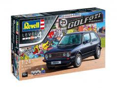 35 anos de Volkswwagen VW Golf GTI Pirelli estojo 1:24 Revell