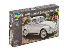 Volkswagen VW Beetle Limousine ano de construção 1968 estojo 1:24 Revell
