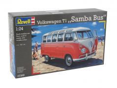 Volkswagen VW T1 Samba Bus estojo 1:24 Revell