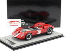 McLaren Elva Mark 1 #30 vencedor Aspern GP 1965 Charles Vogele 1:18 Tecnomodel