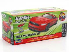 Ford Mustang GT year 2015 kit red 1:25 Revell