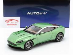 Aston Martin DB11 築 2017 appletree グリーン 1:18 AUTOart
