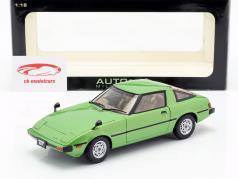 Mazda Savanna RX-7 (SA) GT-Limited ano de construção 1978 verde 1:18 AUTOart