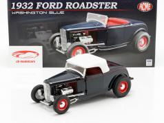 Ford Roadster année de construction 1932 Washington bleu 1:18 GMP