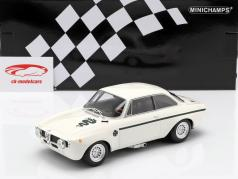 Alfa Romeo GTA 1300 Junior year 1971 white / dark green 1:18 Minichamps