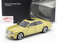 Bentley Mulsanne Speed Baujahr 2017 monaco gelb 1:18 Almost Real