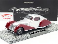 Talbot Lago T 150-C-SS Coupe année 1937 rouge / argent 1:18 Minichamps