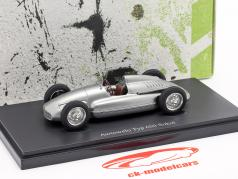 Awtowelo Typ 650 Sokol year 1952 silver 1:43 AutoCult