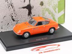 DAF 40 GT Bouwjaar 1965 oranje 1:43 AutoCult