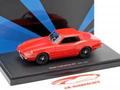 Saab Catherina GT année de construction 1964 rouge 1:43 AutoCult