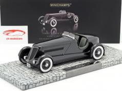 Ford Edsel Especial Speedster Ano 1934 preto 1:18 Minichamps