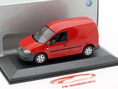 Volkswagen Caddy rood 1:43 Minichamps