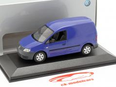 Volkswagen VW Caddy År 2005 blå 1:43 Minichamps
