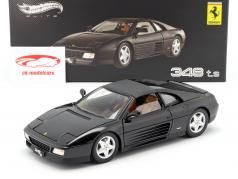 Ferrari 348 ts black 1:18 HotWheels Elite