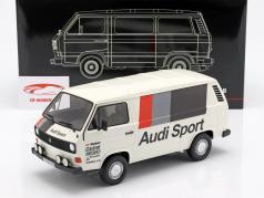 Volkswagen VW T3 furgone Audi Sport bianco 1:18 PremiumClassiXXs