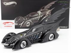Batmobile Batman Toujours Film 1995 noir mat 1:18 HotWheels Elite