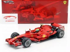 Felipe Massa Ferrari F2008 #2 Fórmula 1 2008 1:18 HotWheels