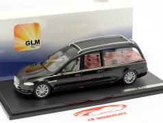 Jaguar Wilcox X351 Hearse Baujahr 2013 schwarz 1:43 GLM